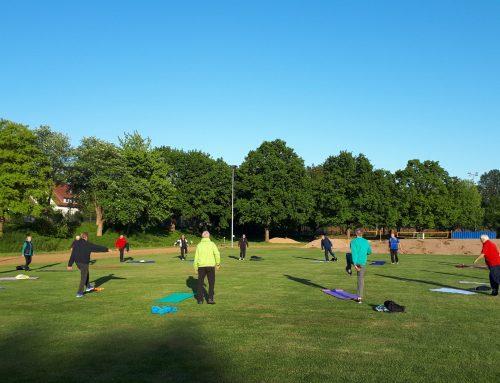 Der Spagat zwischen Training und Abstand