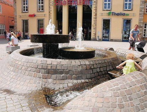 Kaiserbrunnen gesperrt