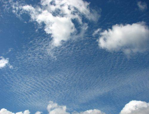 Dem Himmel sei dank für diese fantastischen Wolken