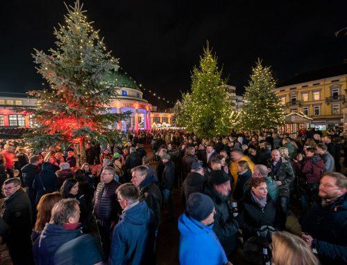 Weihnachtsmarkt auf Stand-by