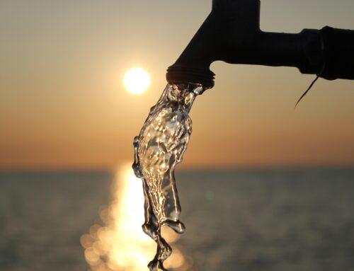 Noch sprudelt das Trinkwasser